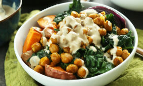 Sweet Potato Chickpea Buddha Bowl – Recipes For Dinner