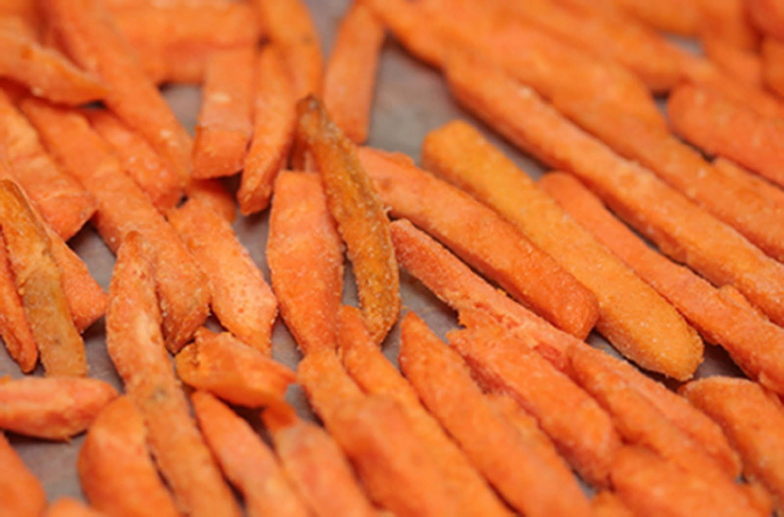 Sweet Potato Fries - The Kids Cook Monday - oven baked potato recipes dinner