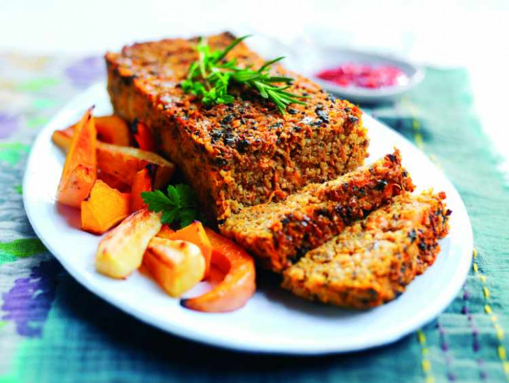 Sweet Potato Loaf Vegetarian Recipe - recipes using vegetarian mince
