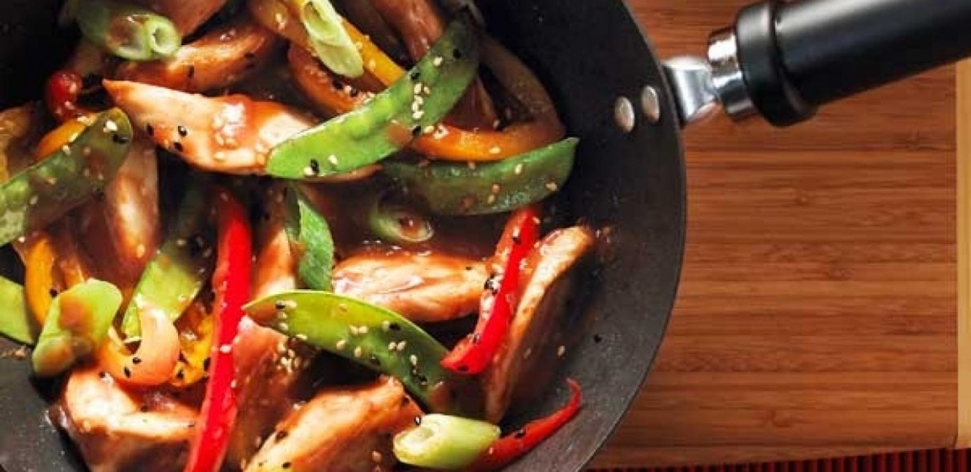 Sweet & Salty Sauteed Chicken and Vegetables - chicken and vegetable recipes