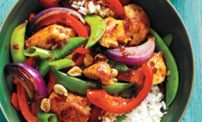 Sweet Spicy Chicken And Vegetable Stir Fry Recipe | MyRecipes – Recipes Vegetarian Stir Fry