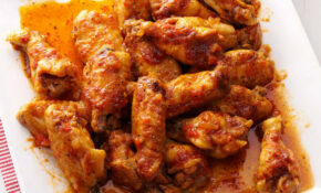 Sweet & Spicy Chicken Wings Recipe | Taste Of Home – Chicken Recipes Spicy