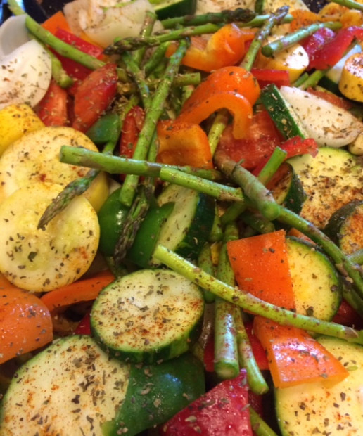 Sweet-Summertime Seasoned Grilled Vegetables - Nutrition Twins - recipes grill vegetarian
