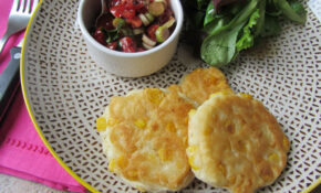 Sweetcorn Fritters – Lucy's Friendly Foods – Recipes Vegetarian No Egg