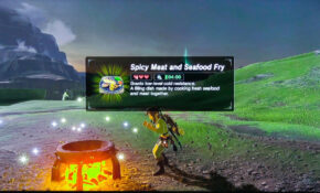 Switch: The Old Man's Missing Recipe – Zelda BOTW – Food Recipes Zelda Botw