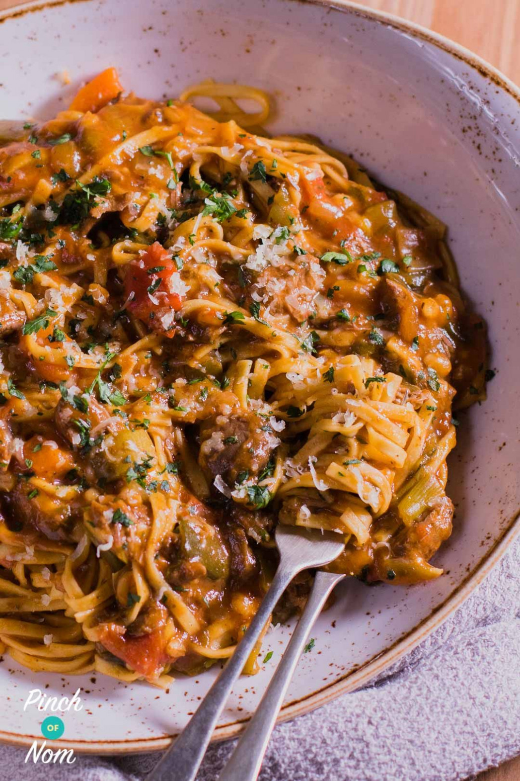 Syn Free Beef Ragu Fettuccine | Slimming World | slimming ..