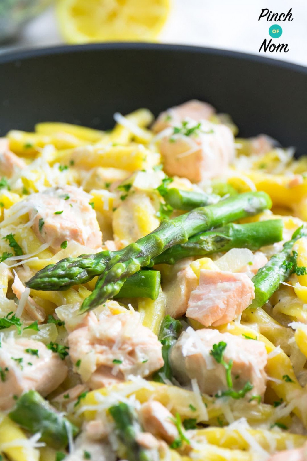 Syn Free Creamy Salmon And Asparagus Pasta | Slimming World ..
