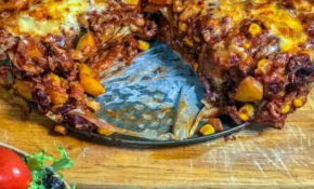 Syn Free Enchilada Lasagne | Slimming World – Pinch Of Nom – Chicken Recipes Pinch Of Nom
