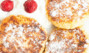 Syrniki – Russian Cottage Cheese Pancakes – Ukrainian Food Recipes