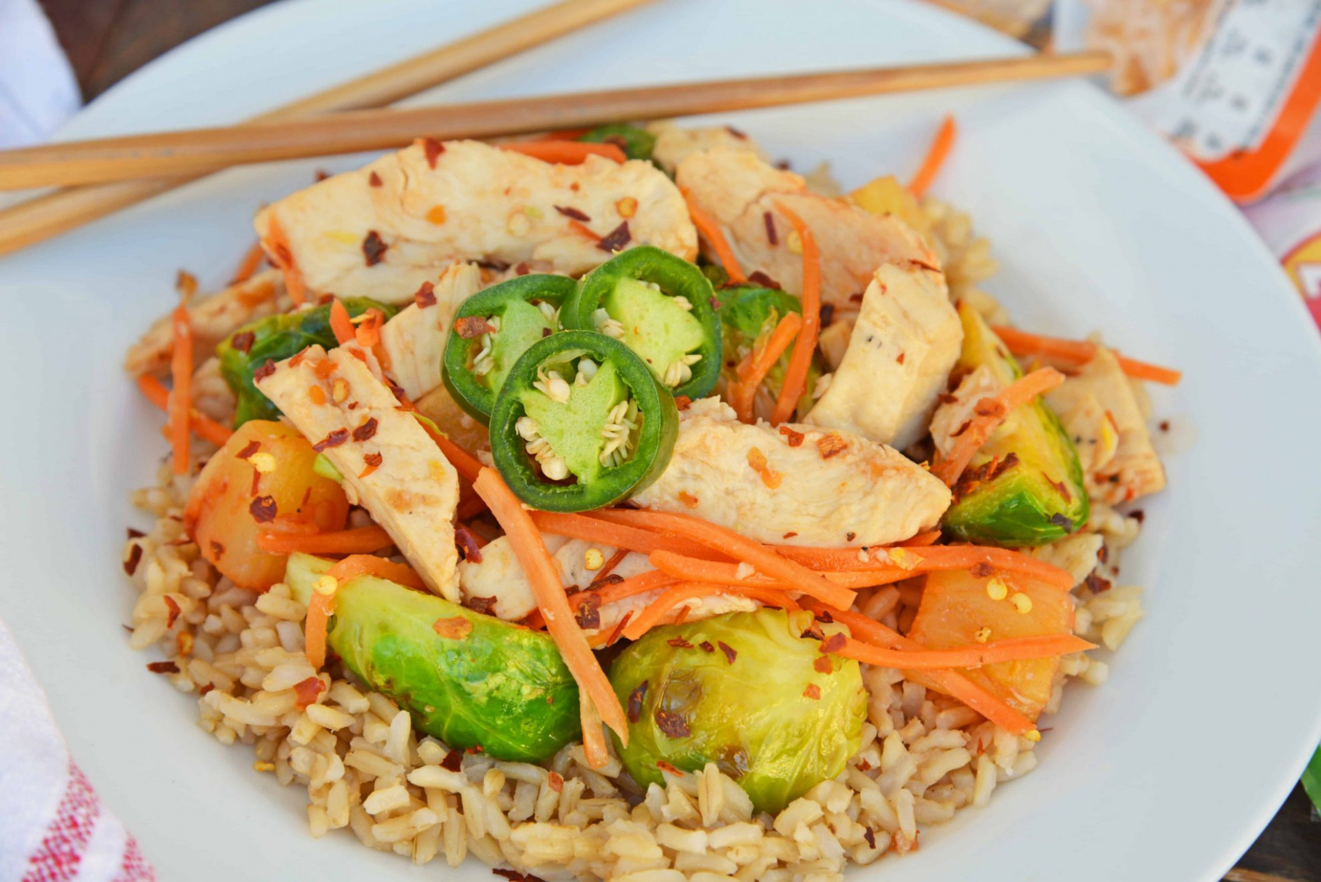 Szechuan Chicken and Rice - dinner recipes rice and chicken