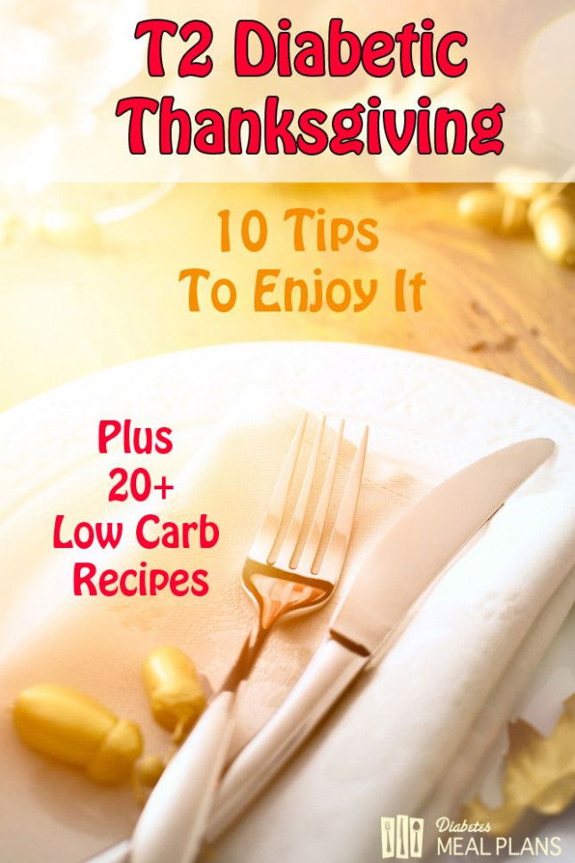 T2 Diabetic Thanksgiving Tips and Recipes | Diabetes Cure ..