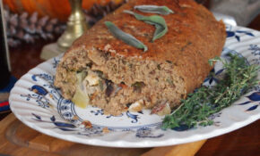 Ta Da! Roasted Veggie Loaf (02) – Vegetarian Recipes Vegan