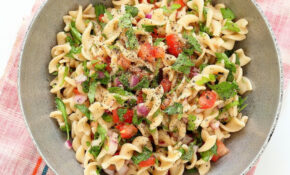 Tabbouleh Pasta Salad – Vegan Richa – Fusilli Pasta Recipes Vegetarian
