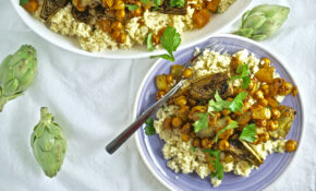 Tagine With Grilled Artichokes, Chickpeas, And Preserved Lemon – Vegetarian Recipes Using Preserved Lemons