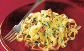 Tagliatelle With Garlic And Toasted Walnuts Recipe ..