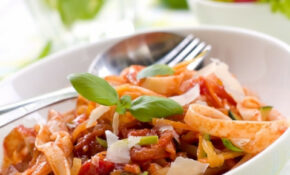 Tagliatelle With Vegetable Ragu | MummyPages.MummyPages