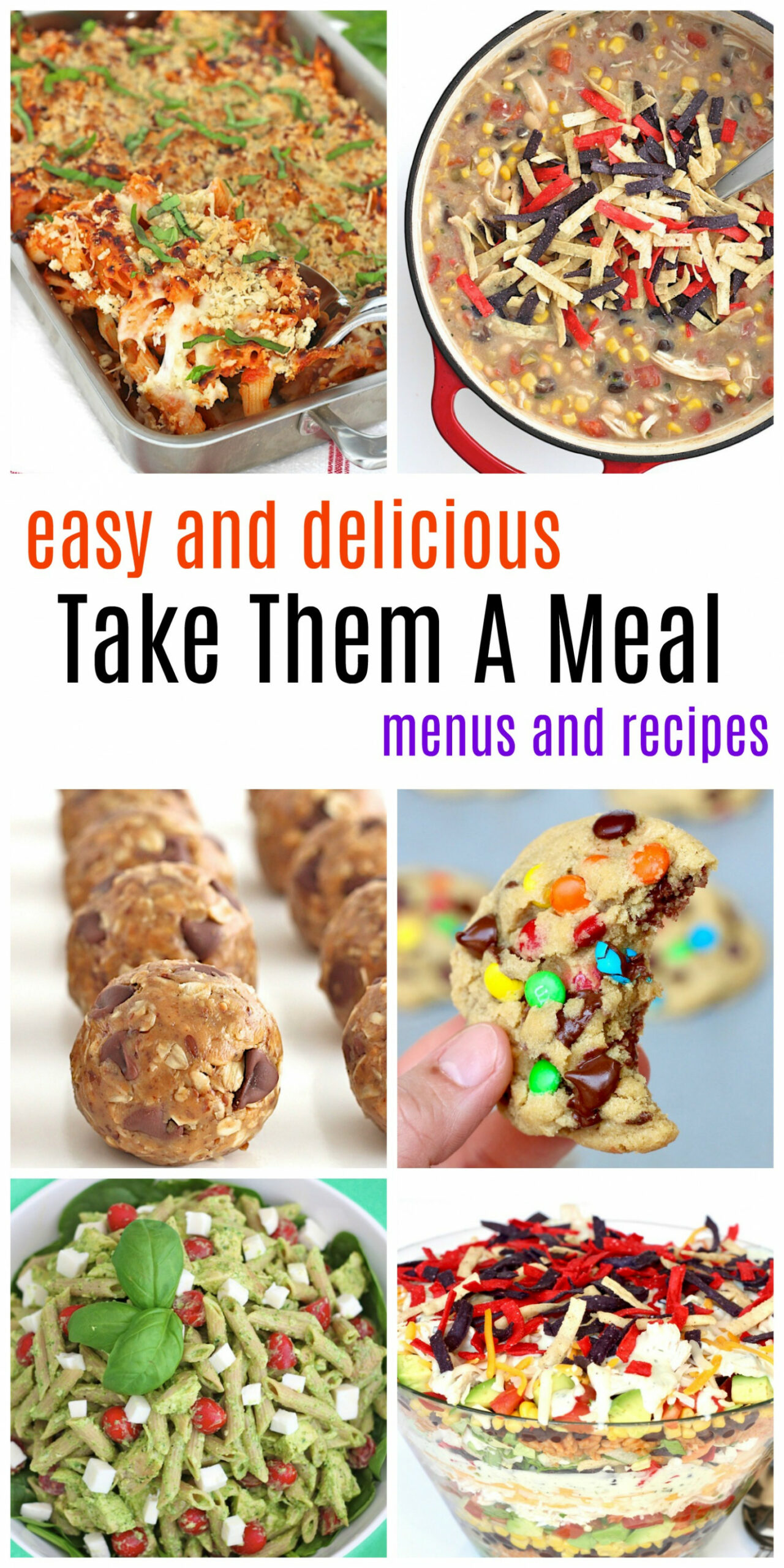 Take Them A Meal | The BakerMama - recipes dinner with friends