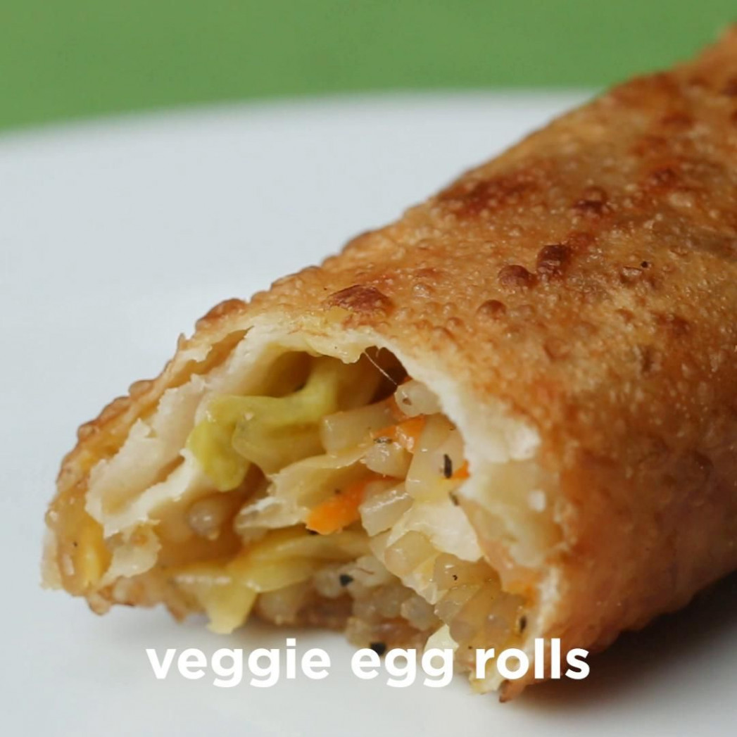 Takeout Style Veggie Egg Rolls | Recipe In 2019 | Asian ..