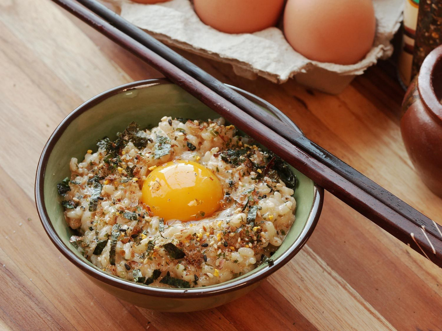 Tamago Kake Gohan (Japanese Style Rice With Egg) Recipe - Japanese Food Recipes