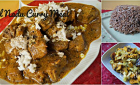Tamil Nadu Dinner – Chettinad Lamb Curry, Puliotharai ..