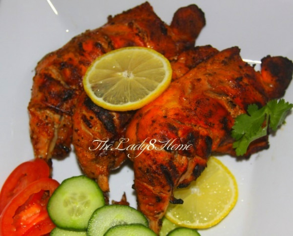 Tandoori Chicken – From Scratch – The Lady 8 Home - Recipes Indian Chicken