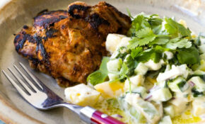 Tandoori Chicken With Raita – Chicken Recipes Nadia Lim