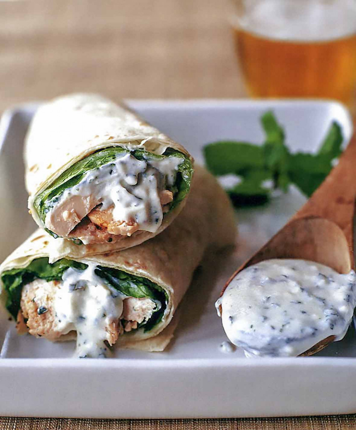 Tandoori Chicken Wraps - wrap recipes chicken
