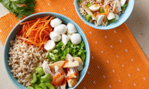 Tangy Buffalo Chicken Rice Bowl Recipe | UNCLE BEN'S® Rice ..