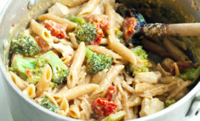 Tangy One Pot Chicken And Veggie Pasta Dinner | Healthy ..