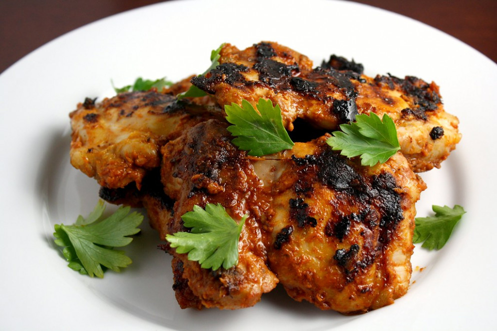 Tangy, Spicy, Skinless, Boneless Chicken Thighs - chicken recipes spicy