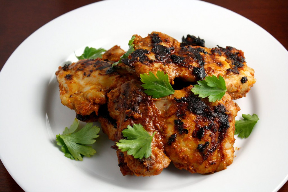 Tangy, Spicy, Skinless, Boneless Chicken Thighs