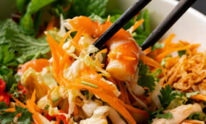 Tangy Vietnamese Chicken & Prawn Salad – Vietnamese Recipes Chicken