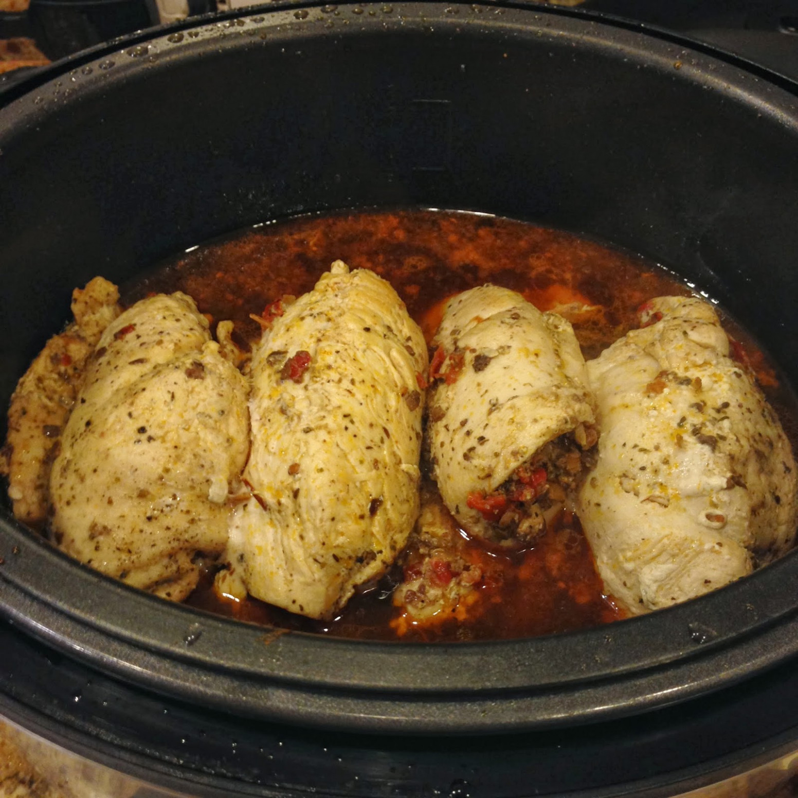 TASTE OF HAWAII: STUFFED CHICKEN BREASTS - PRESSURE COOKER ..