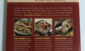 Taste Of Home Everyday Slow Cooker & One Dish Recipes 11 – Chicken Recipes Taste Of Home