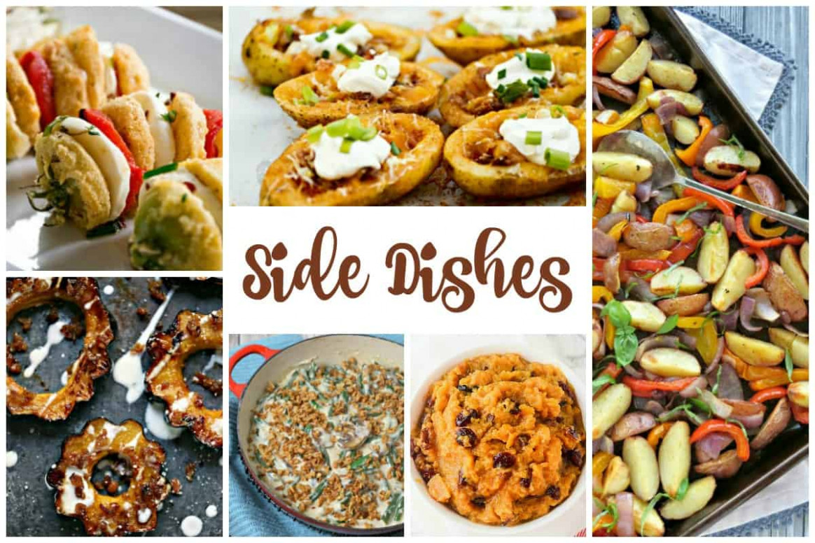 Tasty Side Dishes and our Delicious Dishes Recipe Party - tasty food recipes