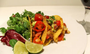 Tasty Tacos With Refried Beans And Guacamole – Recipes Vegetarian Mexican Food
