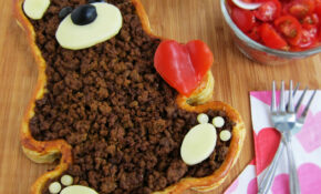 Teddy Bear Taco Tart  Valentine's Day Dinner – Hungry ..