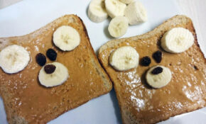 Teddy Bear Toast | Simple Toddler Recipes – Egg Recipes Dinner Healthy