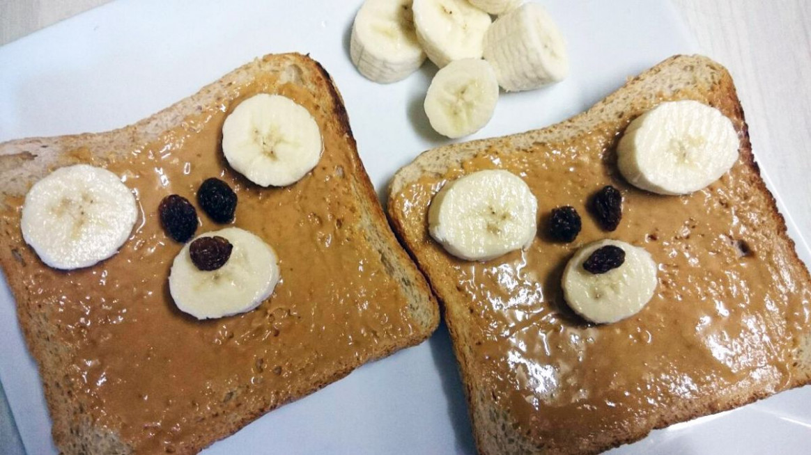 Teddy Bear Toast | Simple Toddler Recipes - egg recipes dinner healthy