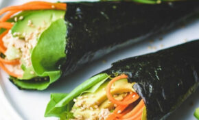 Temaki Sushi Low Carb (Tuna Hand Roll) | I Heart Umami – Low Carb Chinese Food Recipes