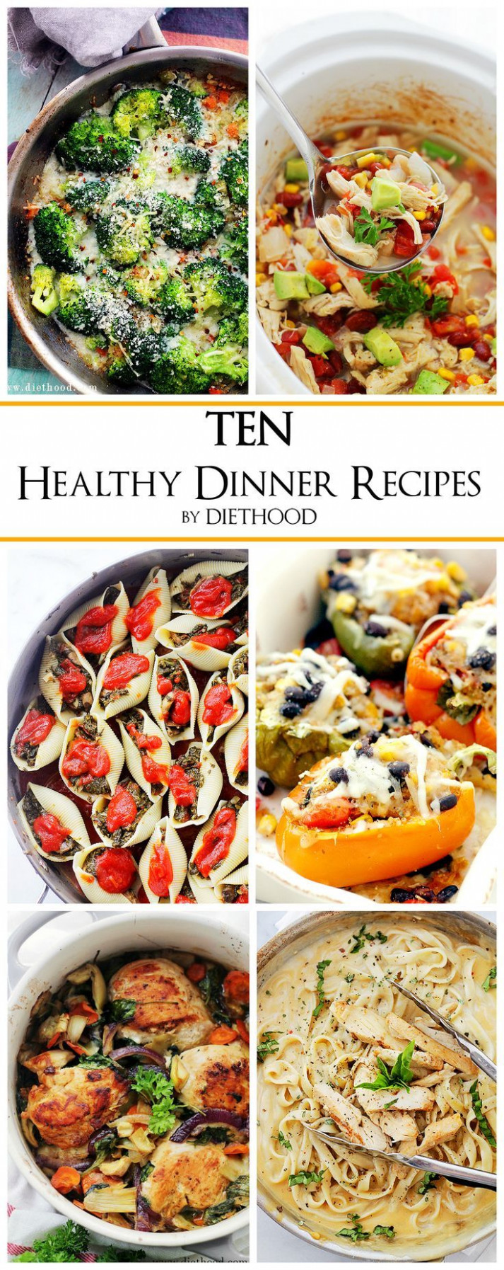 TEN Healthy Easy Dinner Recipes + Kale & Feta One-Pot ..