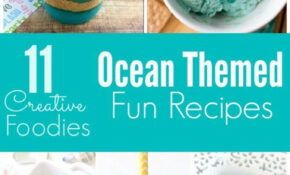 Ten Ocean Themed Recipes And Party Food In 14 | Ocean ..