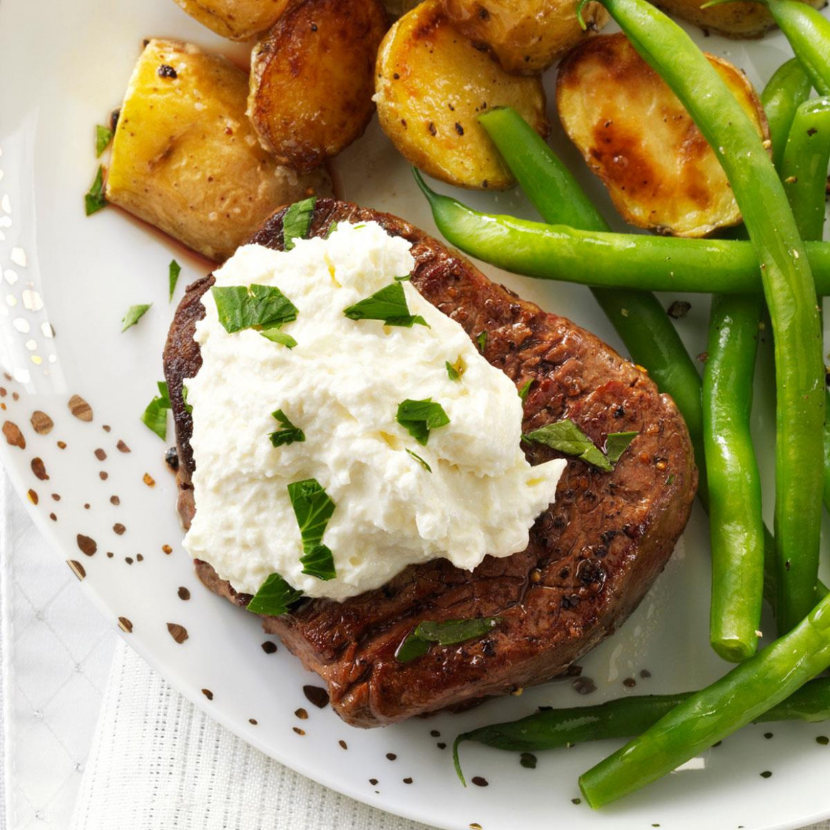 Tenderloin with Horseradish Cream Cheese - dinner recipes american