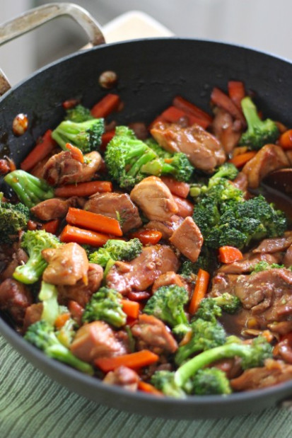 teriyaki chicken - chicken with vegetables recipes easy