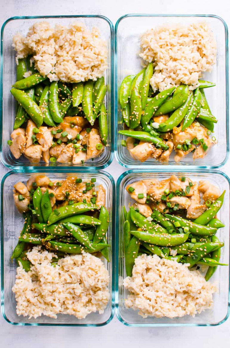 Teriyaki Chicken Meal Prep - Healthy Recipes To Meal Prep