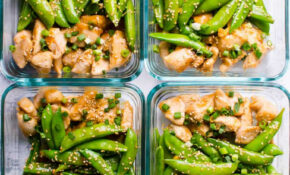 Teriyaki Chicken Meal Prep - iFOODreal - Healthy Family ...