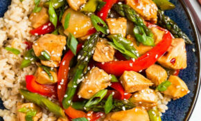 Teriyaki Chicken Stir Fry – Recipes For Chicken