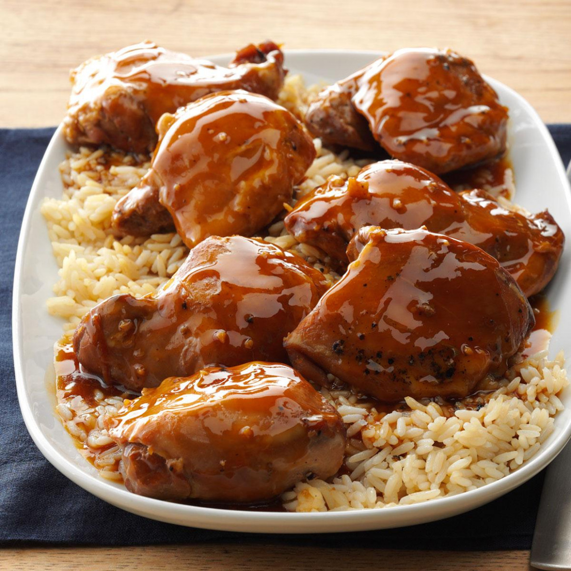 Teriyaki Chicken Thighs - recipes of chicken thighs