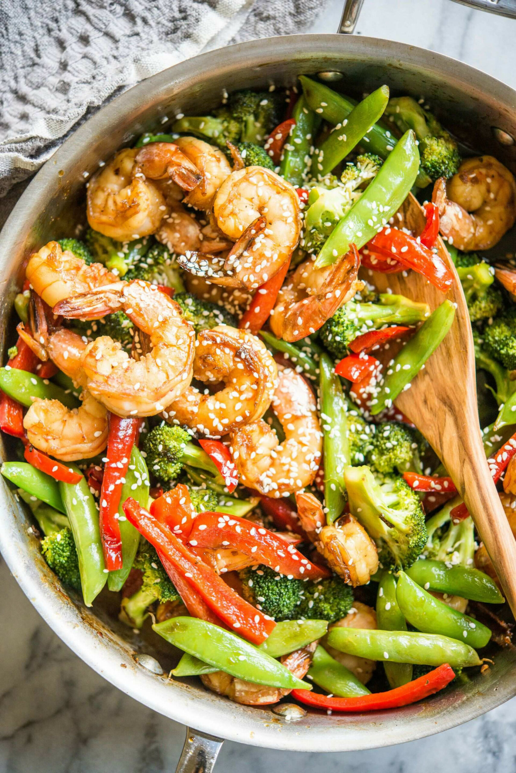 Teriyaki Shrimp And Vegetable Stir Fry - Recipes Vegetarian Stir Fry