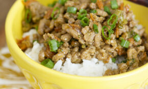 Teriyaki Turkey Rice Bowl – Recipes You Can Make With Ground Chicken